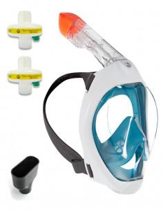 Ochranný set COVID-19 S/M (maska, 2x filtr, adaptér)