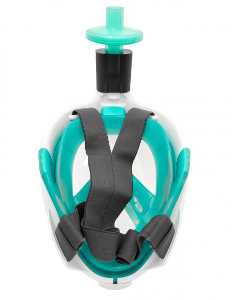 Ochranný set COVID-19 (maska tyrkysová, filtr, adaptér)